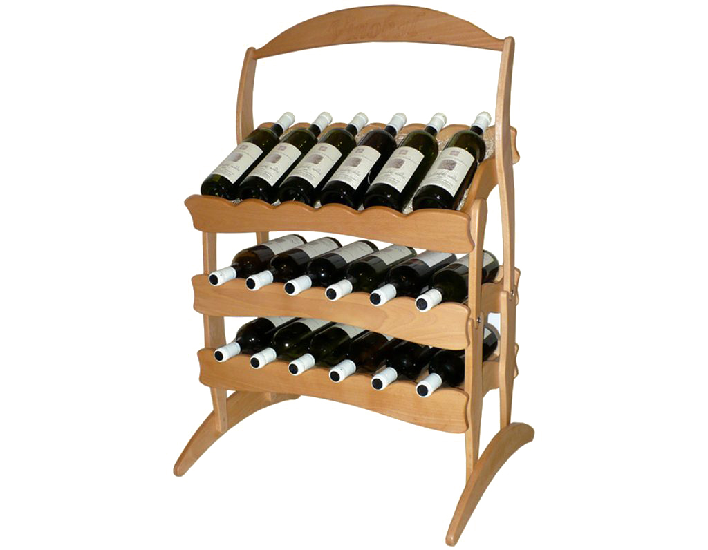 Stojan na víno 603 díl A - Díl stohovatelného stojanu