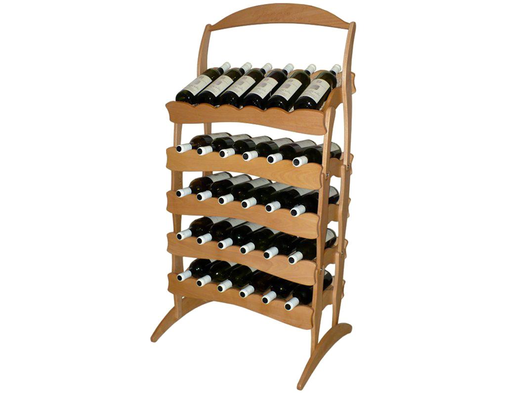 Stojan na víno 603 díl B - Díl stohovatelného stojanu