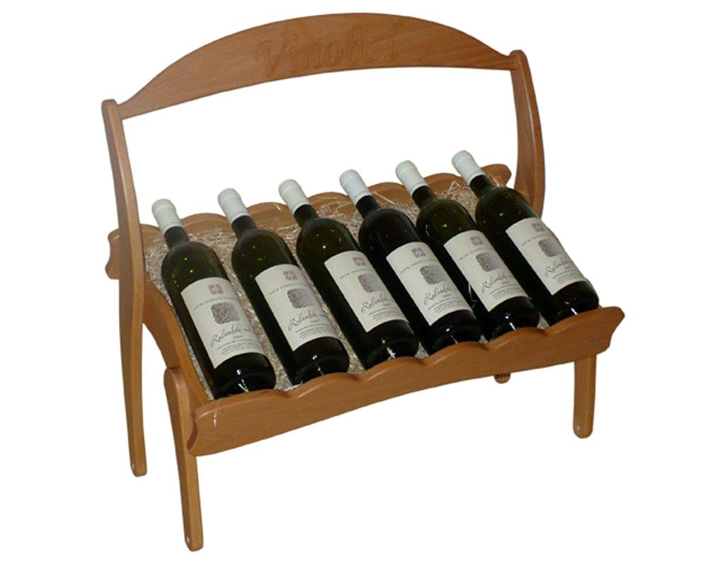 Stojan na víno 603 díl C - Díl stohovatelného stojanu