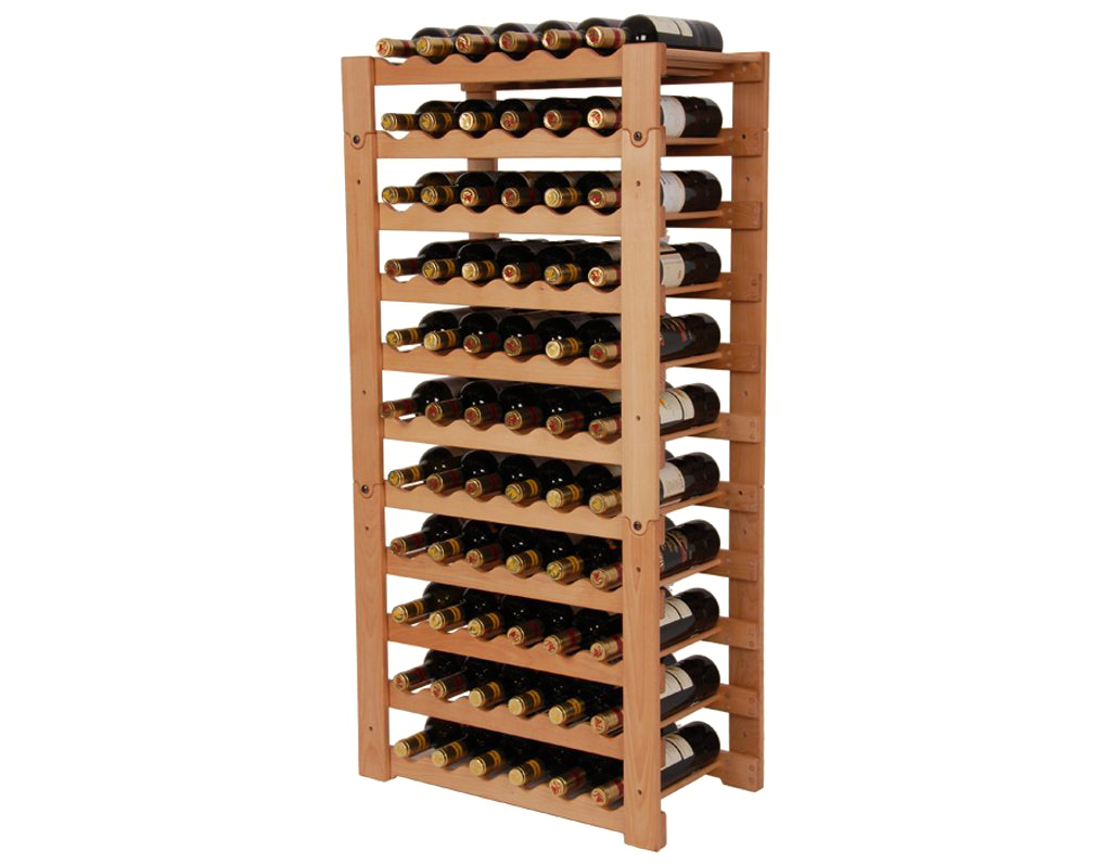 Stojan na víno 657 díl A - Díl stohovatelného stojanu