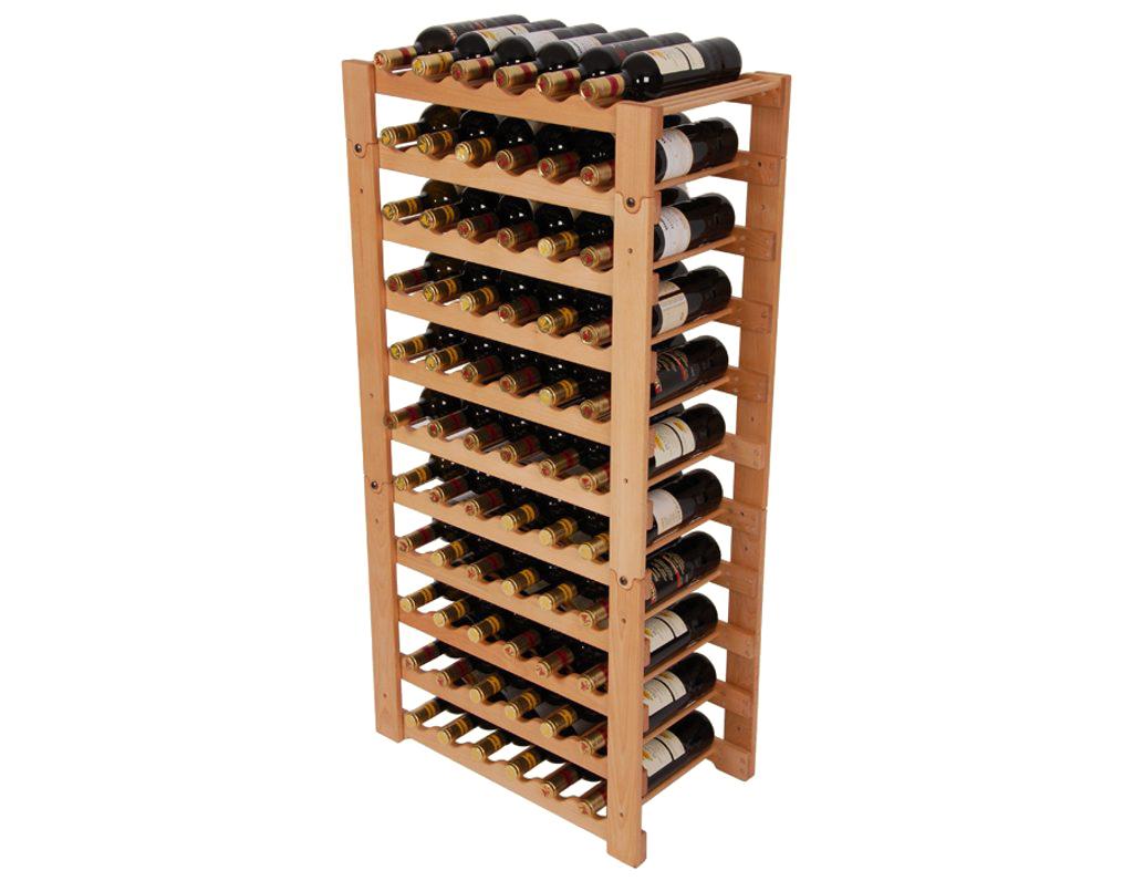 Stojan na víno 657 díl B - Díl stohovatelného stojanu