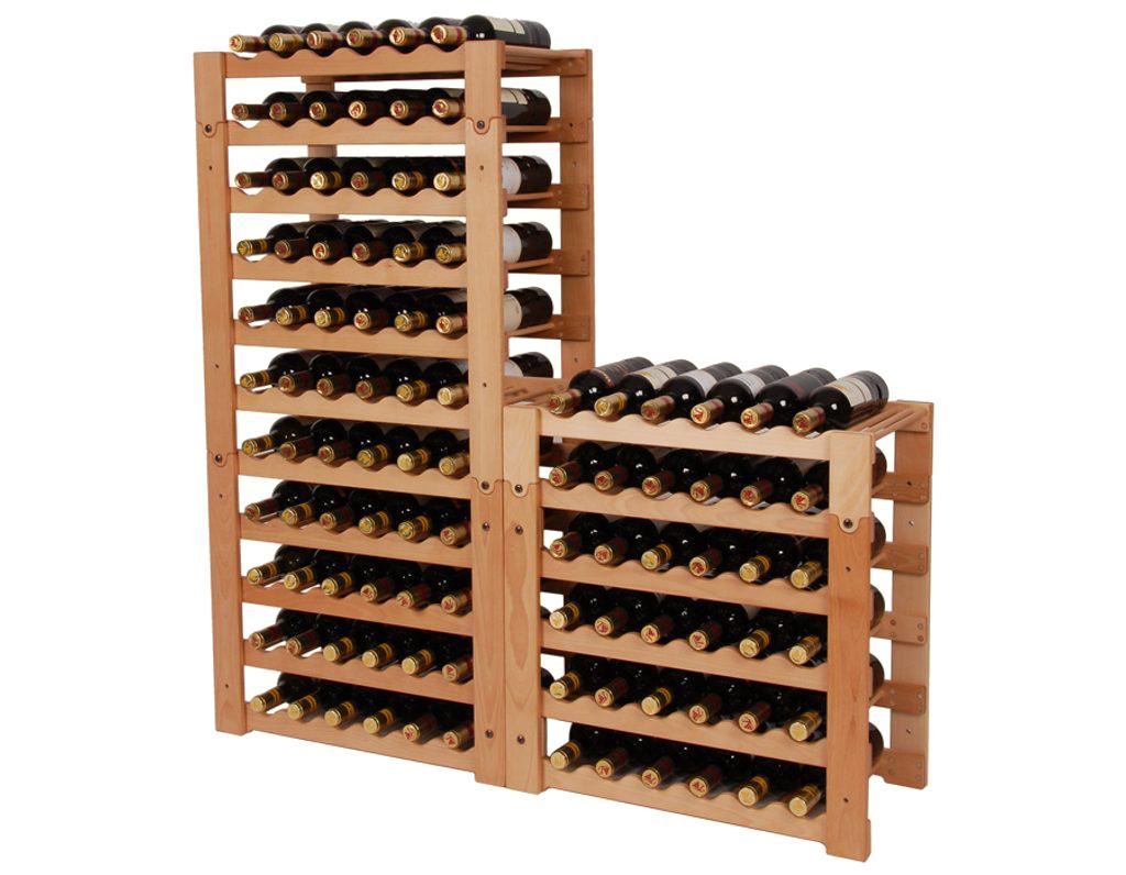 Stojan na víno 657 díl C - Díl stohovatelného stojanu