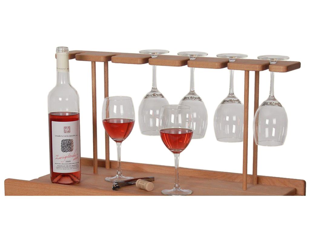 Držák na skleničky pro vinotéky 638 a 639