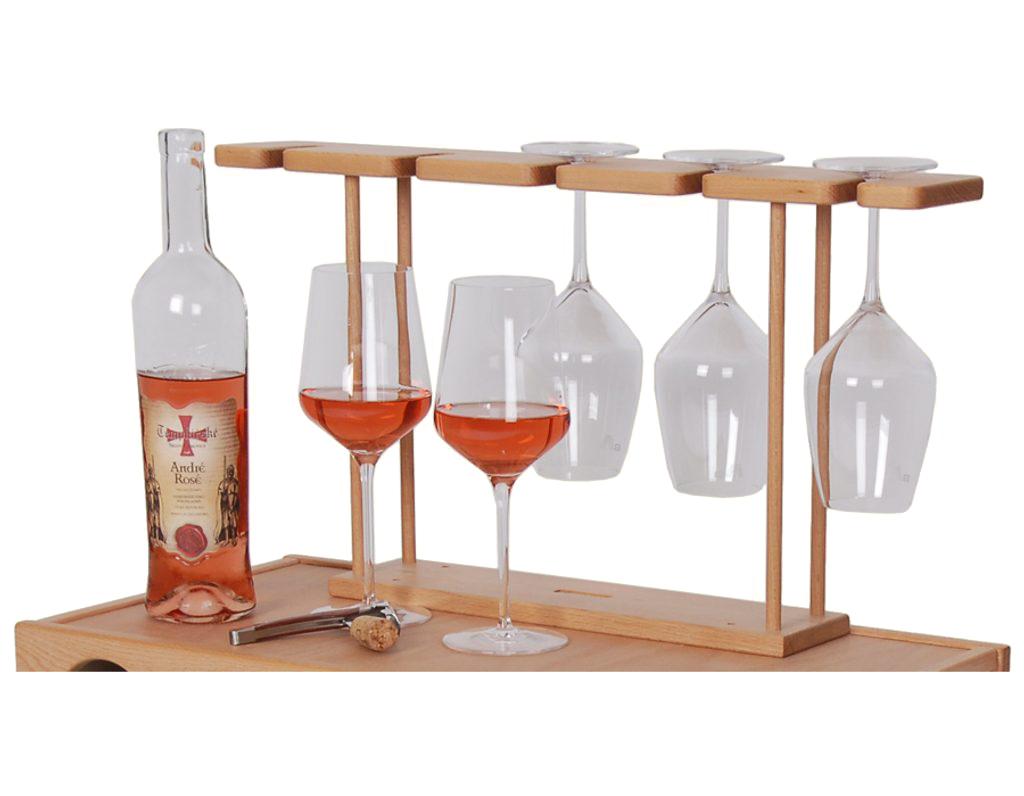 Držák na skleničky pro vinotéky 641, 642, 643, 644, 651, 652 a 653