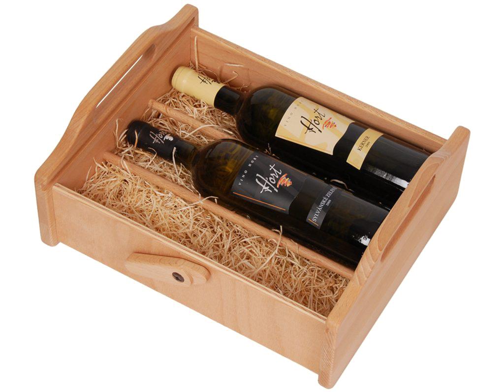 Bedna na víno 544 - 3 lahve