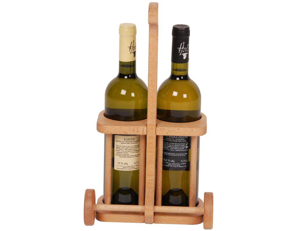 Golfový vozík na 2 lahve vína 554