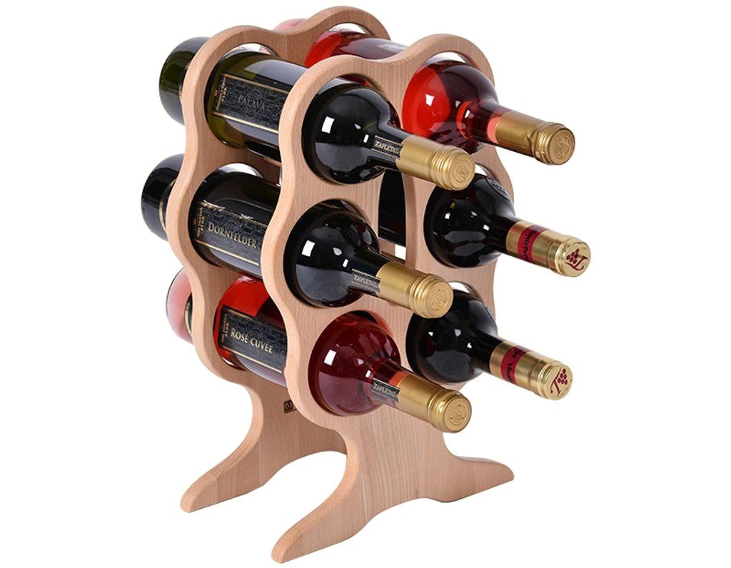 Stojan na víno 669 - malý stojan na 6 lahví