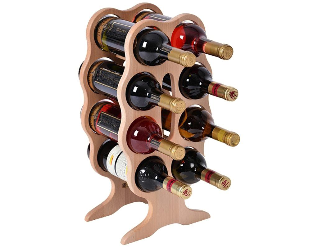 Stojan na víno 670 - malý stojan na 8 lahví