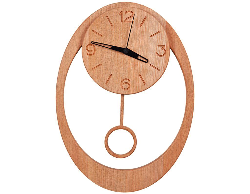 Dřevěné hodiny s kyvadlem 902