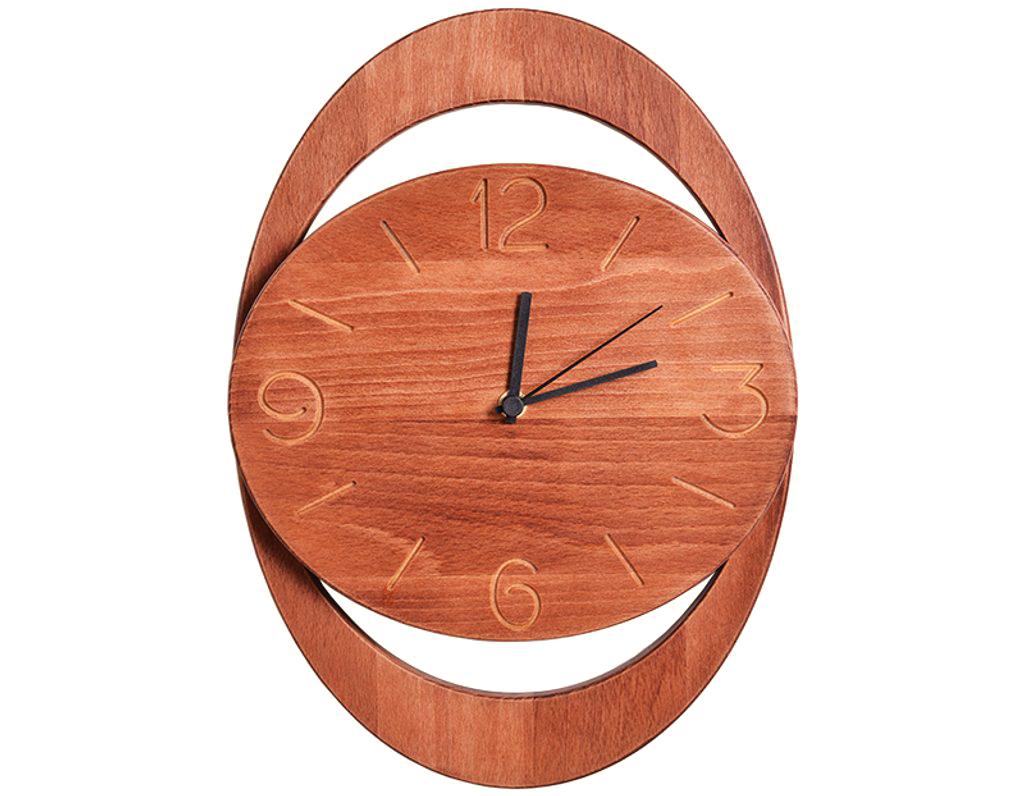 Dřevěné hodiny 904