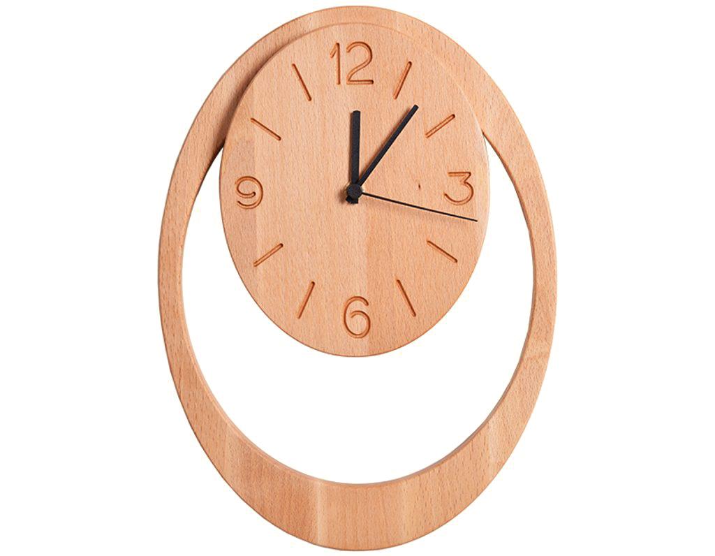 Dřevěné hodiny 905