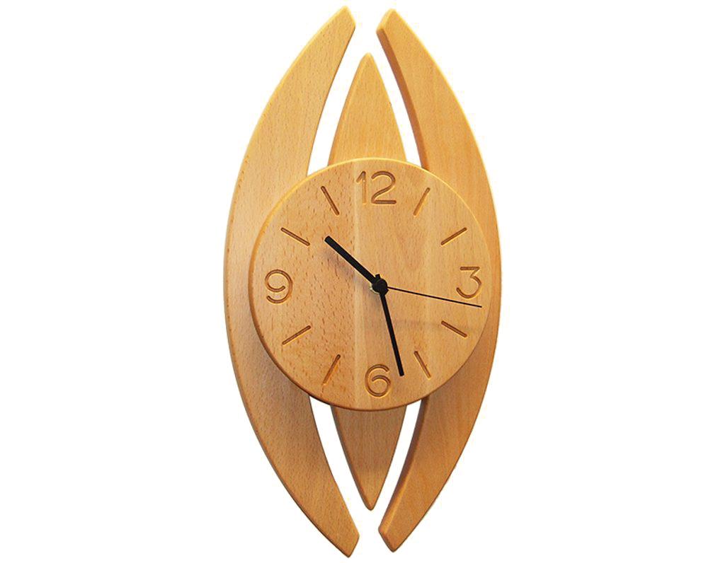 Dřevěné hodiny 906